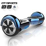 CITYSPORTS Hoverboard 6.5 Pulgadas, Patinete Eléctrico Balance Board Inteligente Scooter 2x350W con...