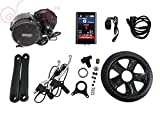 Latest BBS02 48V 750W 8fun Bafang Motor Central Ebike Bicicleta Kit BB: 68 con pantalla a color.