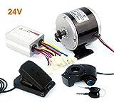 24 V 36 V 350 W DC Eléctrico Motor de Monopatín Eléctrico DIY 350 W Motor Kit Motor eléctrico de...