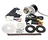 L-faster 24V36V250W Electric Conversion Kit for Common Bike Left Chain Drive Customized for Electric...
