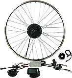 Prystel 26PT - Kit para Bicicleta eléctrica de 26' (Rueda Trasera, 36V/250W) Color Negro