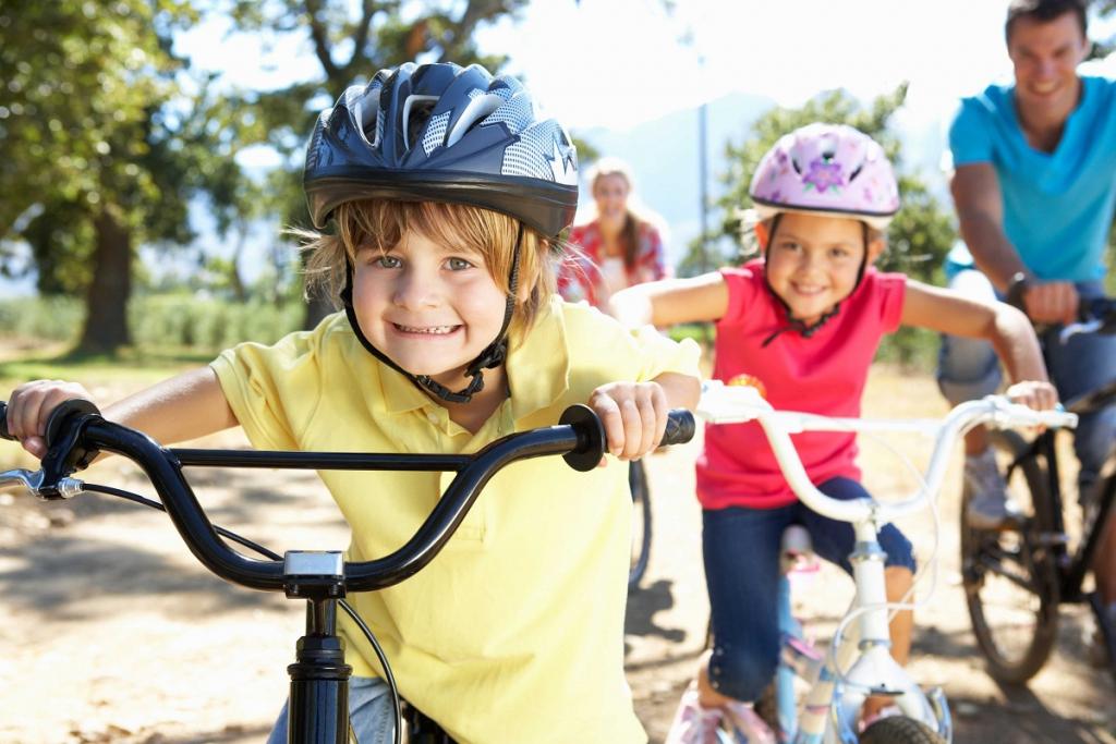 cascos de bici para niños