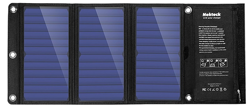 mejor cargador solar móvil