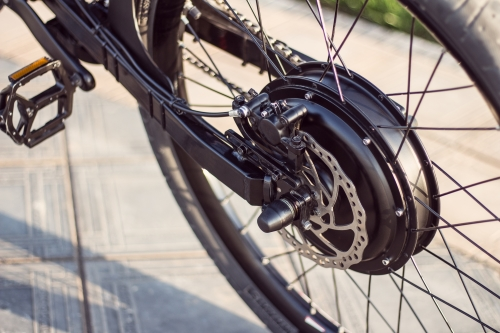 rueda trasera kit bici eléctrica