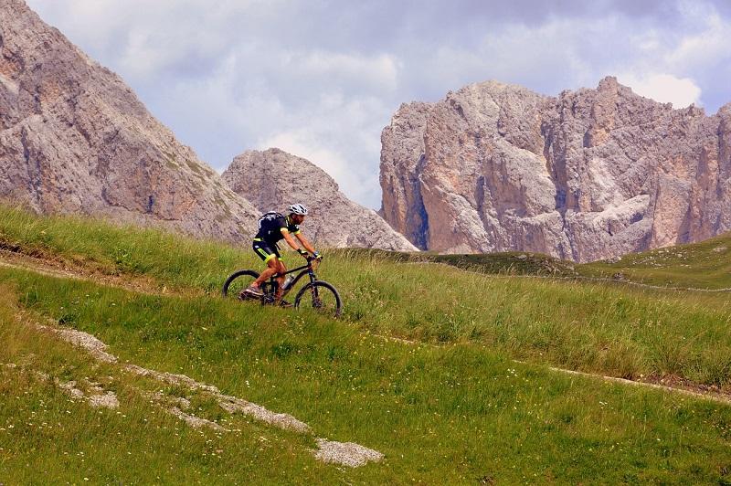 snacking excursión en bicicleta