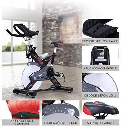 partes y funciones bici de spinning