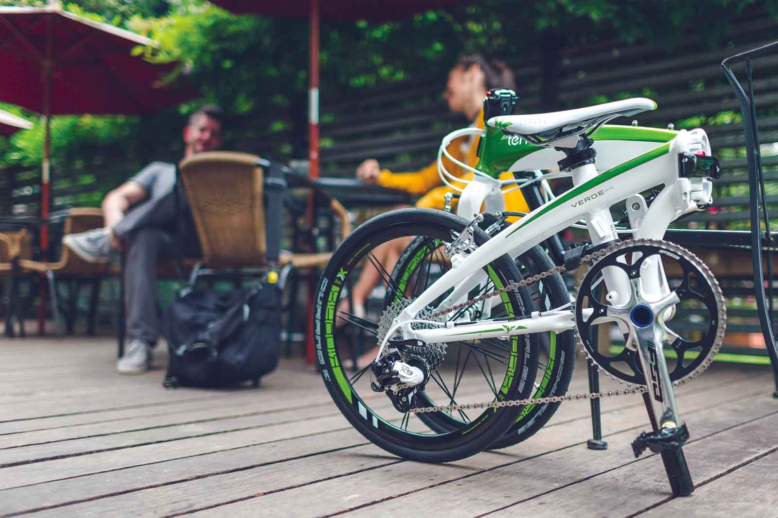 bicicleta plegada