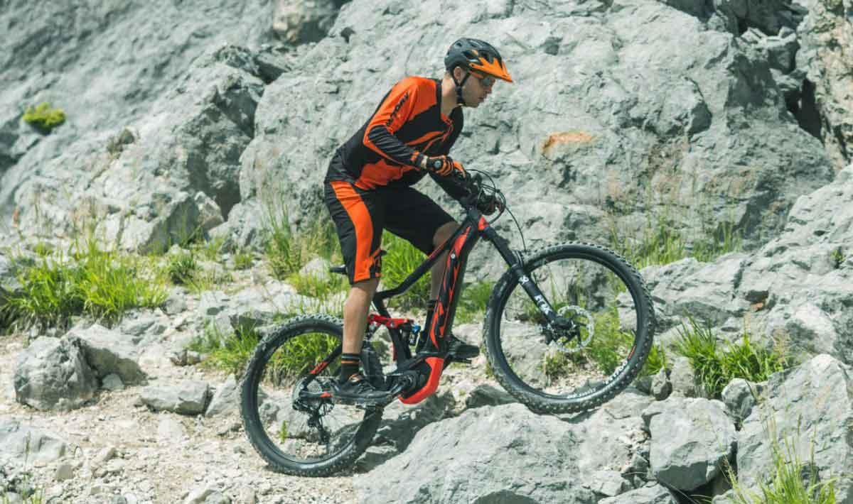 bicicleta electrica de montaña