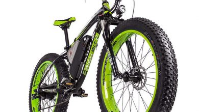 Photo of Rich Bit snow Fat Bike: Bicicleta eléctrica todoterreno